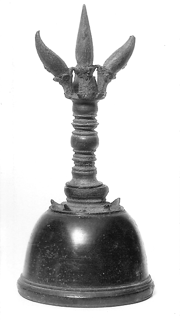 Gheṇṭa (prayer bell), Cast bronze, Javanese