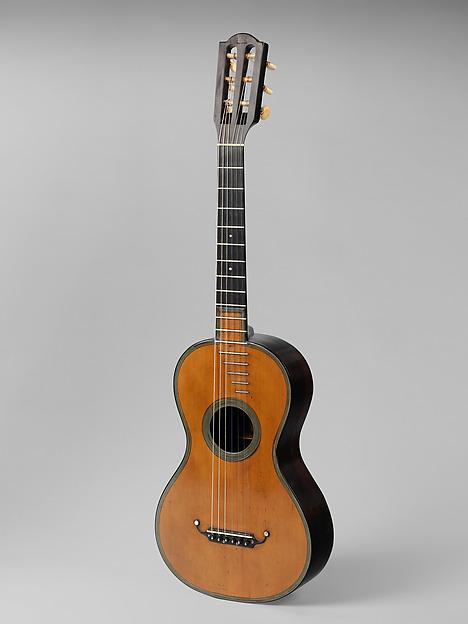 Guitar, Pierre-René Lacôte (French, Paris 1785–1855 Paris), Spruce, rosewood, ebony, French