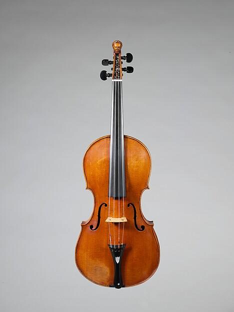 Violin, Joachim Tielke (German, 1641–1719), Spruce, maple, German