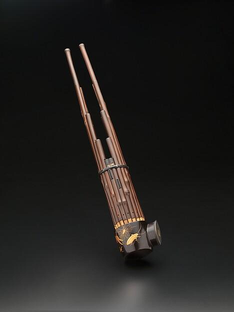 Shō, Bamboo wood, metal, Japanese