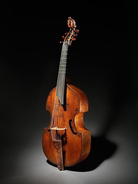 Viola da Gamba, labeled Richard Meares (British, London 1647–1725 London), Spruce, ebony, maple, British
