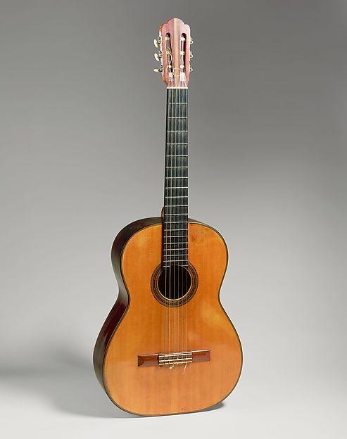 Guitar, Hermann Hauser (German, Munich 1882–1952 Reisbach), Spruce, rosewood, mahogany, bone or ivory, ebony, German