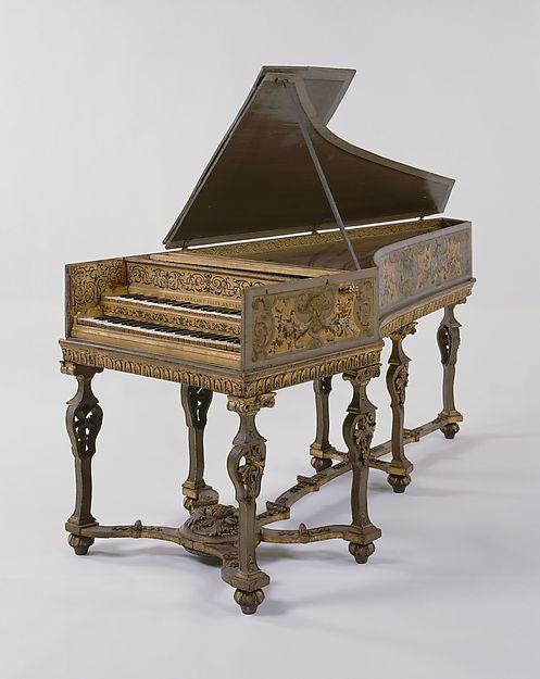 Harpsichord, Jan Couchet the Elder (Flemish, Antwerp 1615–1655 Antwerp), Wood and various materials, Flemish