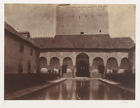 Patio de los Arrayanes, Alhambra, Granada,...