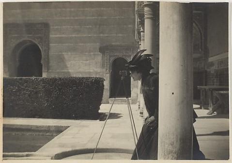 [Olga de Meyer at the Alhambra, Grenada, S...