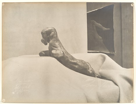 [Auguste Rodin's The Clenched Hand]