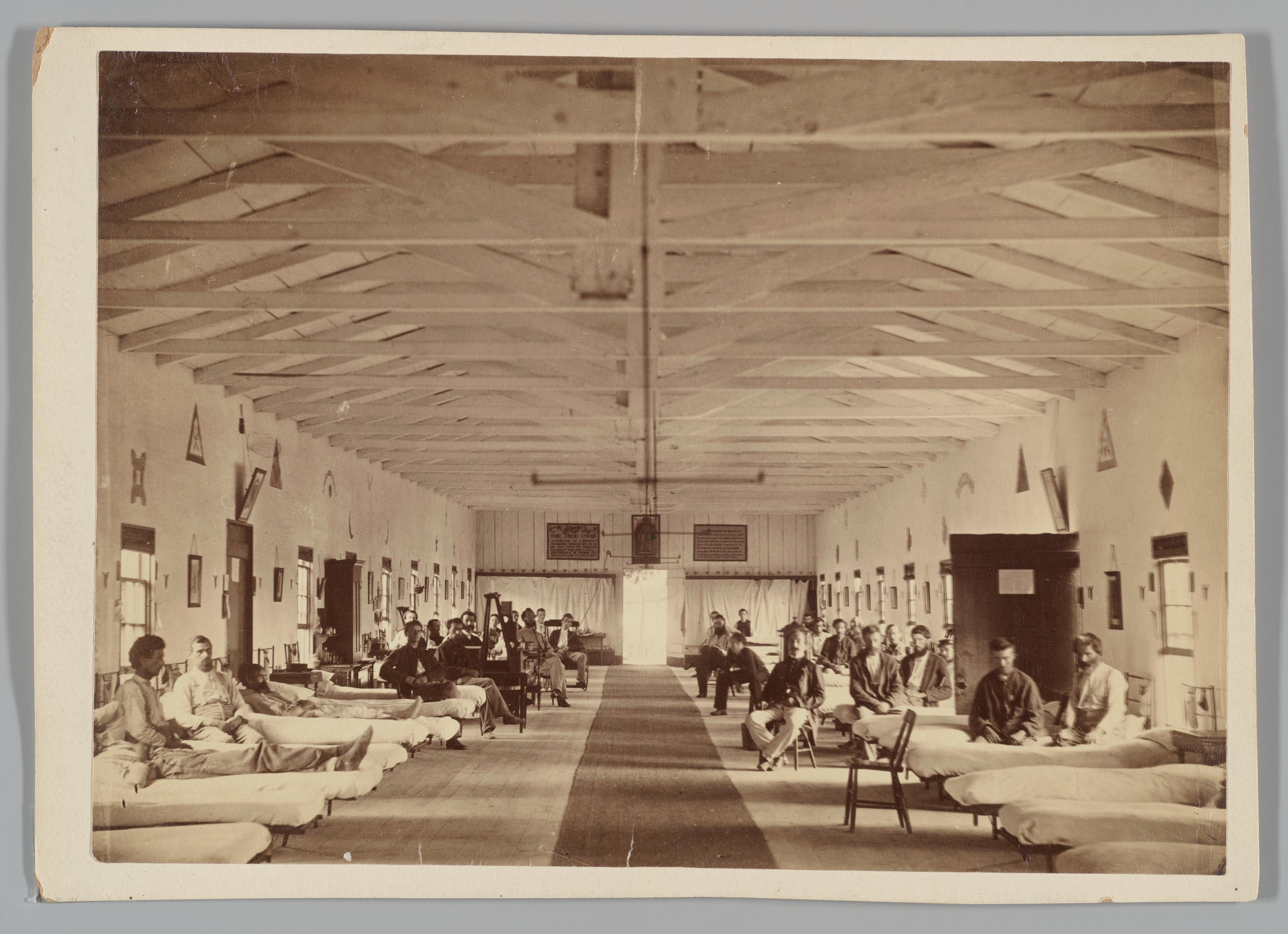 Armory Square Hospital, Interior of Ward K