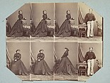 Costumes V, André-Adolphe-Eugène Disdéri (French, Paris 1819–1889 Paris), Albumen silver prints from glass negatives