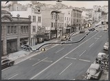 [Automobile Accident, San Francisco], Unknown (American), Gelatin silver print with applied media