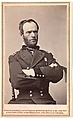 [Major General William Tecumseh Sherman Wearing Mourning Armband], Brady & Co. (American, active 1840s–1880s), Albumen silver print from glass negative