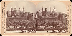 Tower of London, London, England, Benneville Lloyd Singley (American, Union Township, Pennsylvania 1864–1938 Meadville, Pennsylvania), Albumen silver prints