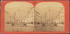 [Group of 5 Stereograph Views of Austria], Franz Richard Unterberger (Austrian), Albumen silver prints