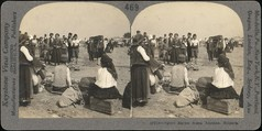 [Group of 3 Stereograph Views of Bulgarians in Traditional Clothing], Unknown, Albumen silver prints