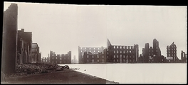 Ruins of Gallego Flour Mills, Richmond, Alexander Gardner (American, Glasgow, Scotland 1821–1882 Washington, D.C.), Albumen silver prints from glass negatives