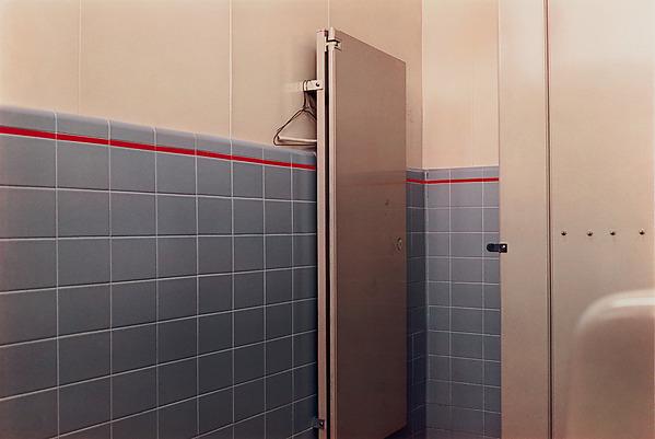 William Eggleston Untitled Bathroom Stall Door The Met - American bathroom stalls