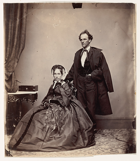 [Senator and Mrs. James Henry Lane], Brady & Co. (American, active 1840s–1880s), Albumen silver print from glass negative