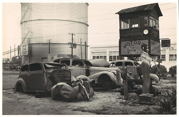 Auto Graveyard, Florida, Walker Evans (American, St. Louis, Missouri 1903–1975 New Haven, Connecticut), Gelatin silver print