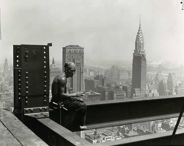 Empire State Building, Lewis Hine (American, 1874–1940), Gelatin silver print