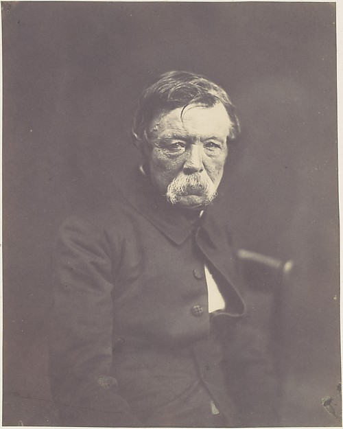 David D'Angers, Édouard Baldus (French, born Prussia, 1813–1889), Salted paper print from paper negative