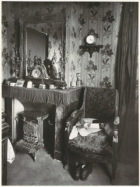 Paris Interior, Eugène Atget (French, Libourne 1857–1927 Paris), Gelatin silver print
