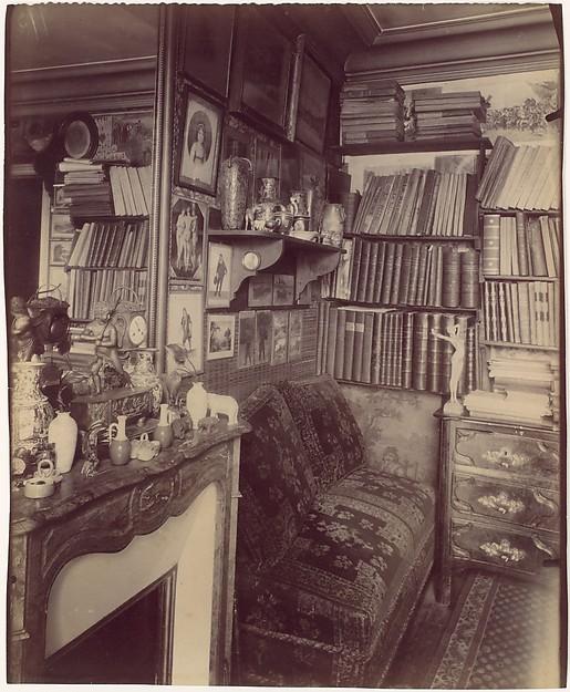 Intérieur Rue de Vaugirard, Eugène Atget (French, Libourne 1857–1927 Paris), Albumen silver print from glass negative