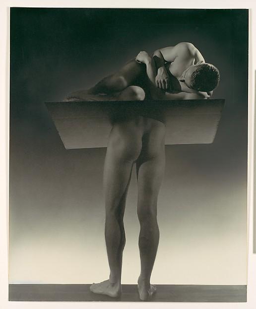 The Sleepwalker, George Platt Lynes (American, East Orange, New Jersey 1907–1955 New York), Gelatin silver print with applied media