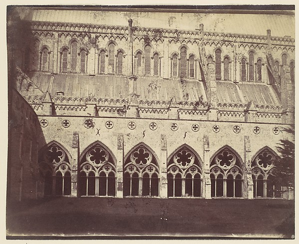 [Salisbury Cathedral], Unknown (British), Albumen silver print from paper negative