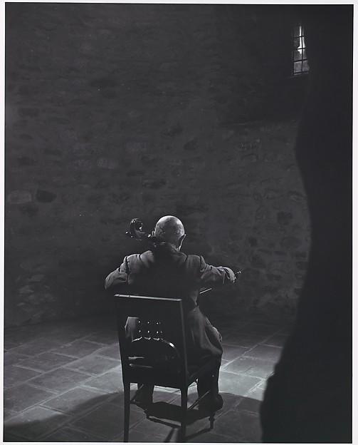 Pablo Casals, Yousuf Karsh (Canadian (born Armenia), Mardin 1908–2002 Boston, Massachusetts), Gelatin silver print