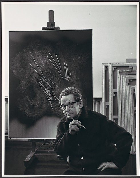 Hans Hartung, Yousuf Karsh (Canadian (born Armenia), Mardin 1908–2002 Boston, Massachusetts), Gelatin silver print