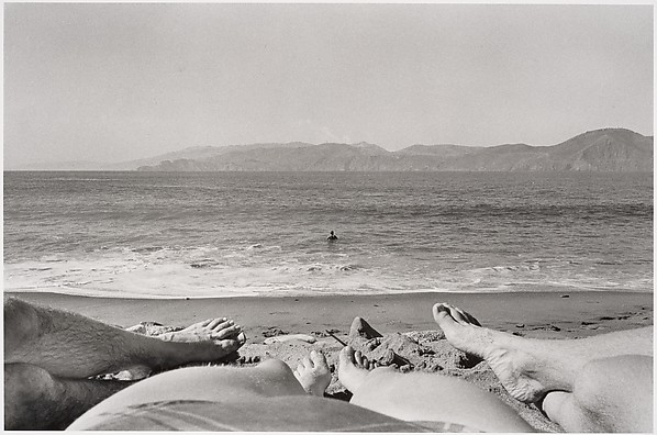 Beach, San Francisco, Elaine Mayes (American, born 1938), Gelatin silver print