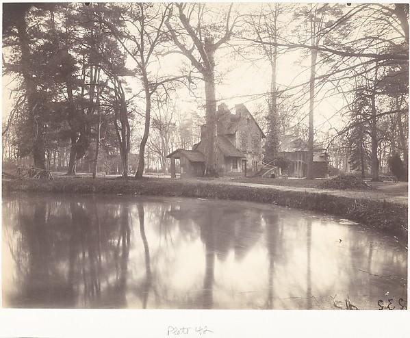 Trianon, Eugène Atget (French, Libourne 1857–1927 Paris), Matte albumen silver print from glass negative