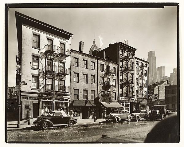 [126-130 West Street, Manhattan], Berenice Abbott (American, Springfield, Ohio 1898–1991 Monson, Maine), Gelatin silver print
