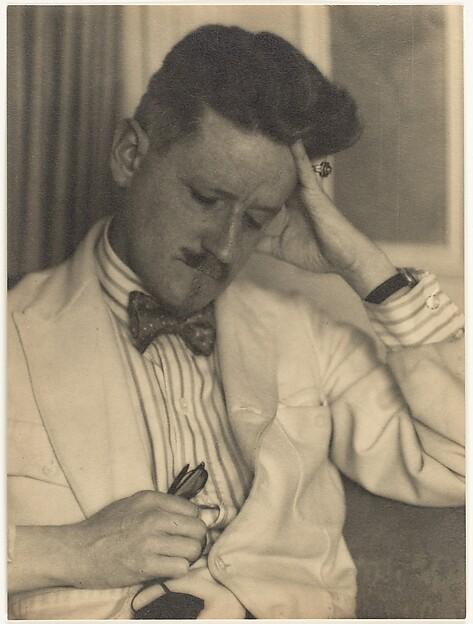 [James Joyce], Berenice Abbott (American, Springfield, Ohio 1898–1991 Monson, Maine), Gelatin silver print