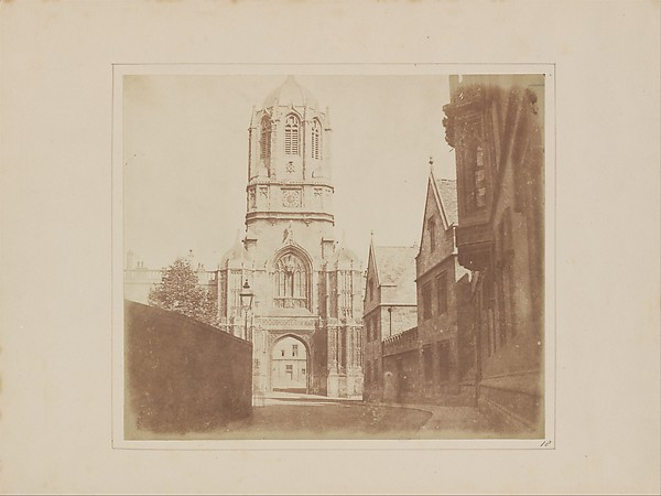 Gate of Christchurch, William Henry Fox Talbot (British, Dorset 1800–1877 Lacock), Salted paper print from paper negative