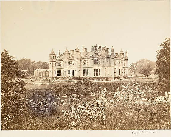 Garscube House, Scotland, Unknown (British), Albumen silver print from glass negative
