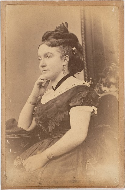 [Unidentified Woman], Unknown (British), Albumen silver print