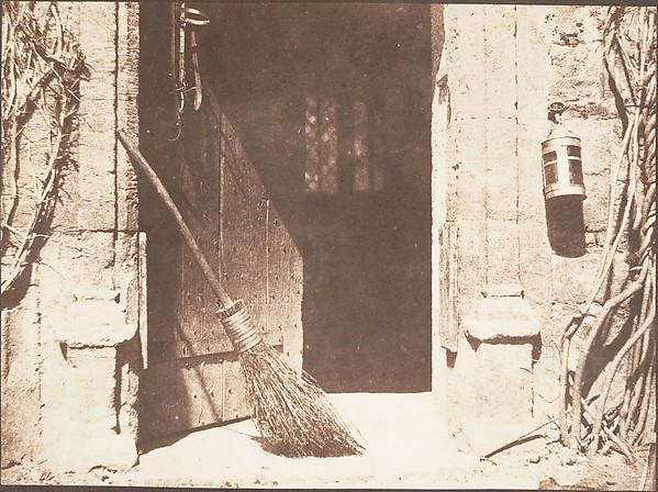 The Open Door, William Henry Fox Talbot (British, Dorset 1800–1877 Lacock), Salted paper print from paper negative