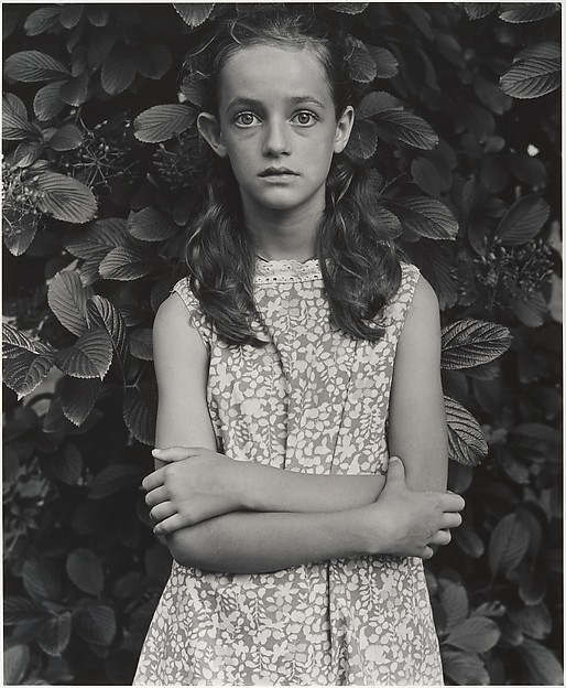 Wendy Rice at Age Twelve, Millerton, New York, Mark Goodman (American, born 1946), Gelatin silver print