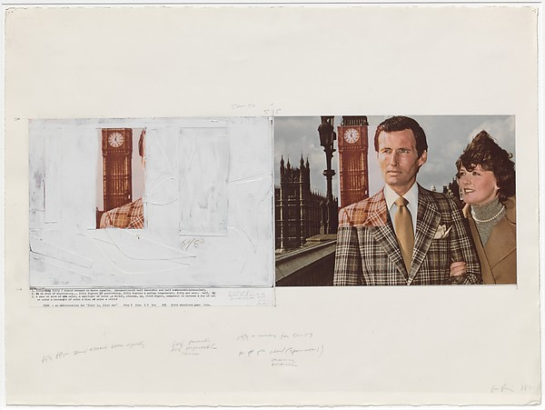 Untitled (couple), Richard Prince (American, born Canal Zone (Panama), 1949), Mixed media on paper