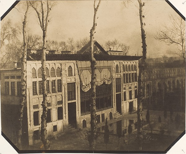 [Palace of the Shah], Luigi Pesce (Italian, 1818–1891), Albumen silver print from paper negative
