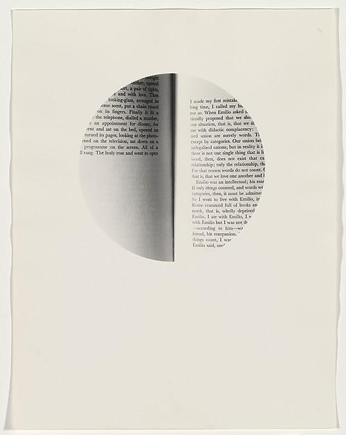 Open, Louise Lawler (American, born Bronxville, New York, 1947), Gelatin silver print