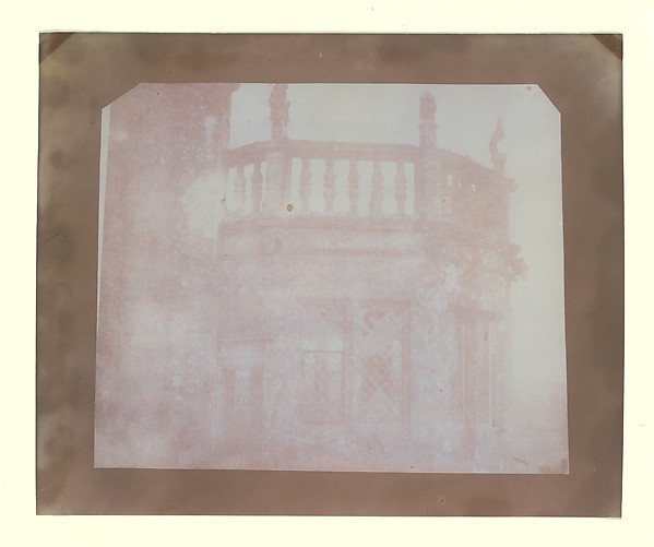 Top of Sharington's Tower, Lacock Abbey, Taken from the Roof above the South Gallery, William Henry Fox Talbot (British, Dorset 1800–1877 Lacock), Salted paper print from paper negative