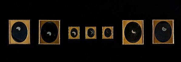Eclipse of the Sun, W. & F. Langenheim (American, active 1843–1874), Daguerreotype