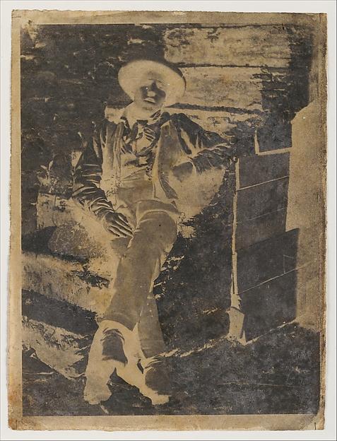 [Young Man], Calvert Richard Jones (British, Swansea, Wales 1802–1877 Bath, England), Paper negative