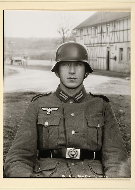 Junger Soldat, Westerwald, August Sander (German, 1876–1964), Gelatin silver print