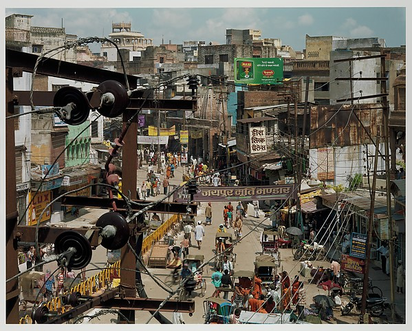 Dashashwemedh Road, Varanasi, India, Robert Polidori (French and Canadian, born 1951), Chromogenic print