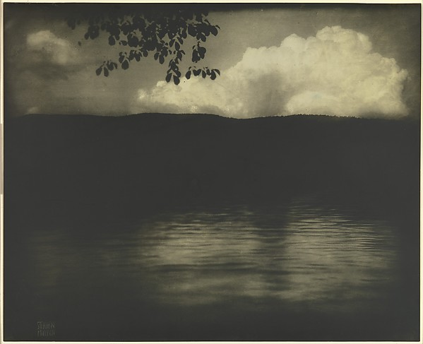 Edward J Steichen The Big White Cloud Lake George The Met