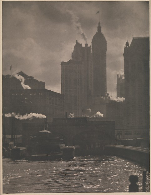 The City of Ambitions, Alfred Stieglitz (American, Hoboken, New Jersey 1864–1946 New York), Photogravure