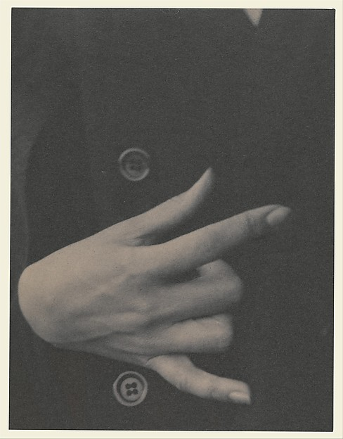 Georgia O'Keeffe—Hand, Alfred Stieglitz (American, Hoboken, New Jersey 1864–1946 New York), Platinum print