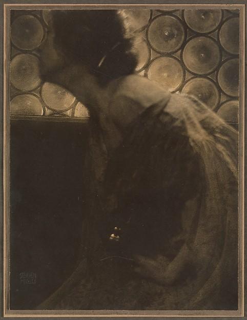 The Black Vase, Edward J. Steichen (American (born Luxembourg), Bivange 1879–1973 West Redding, Connecticut), Direct carbon print
